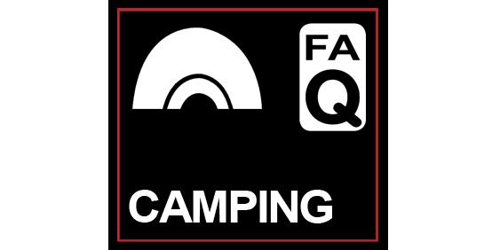 Glastonbudget Camping