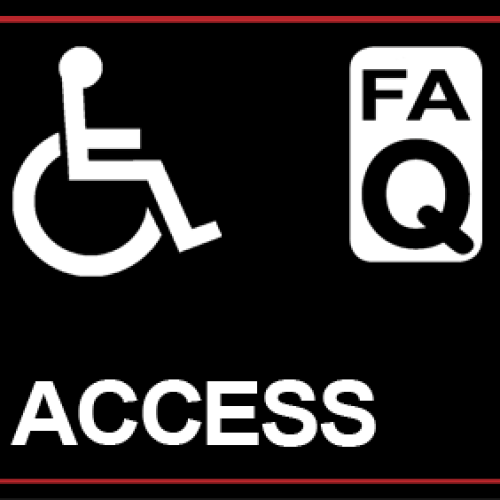 Glastonbudget access 2