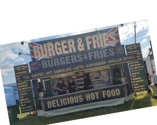 Burgers & Fries Trader Glastonbudget Tribute Band Festival page image