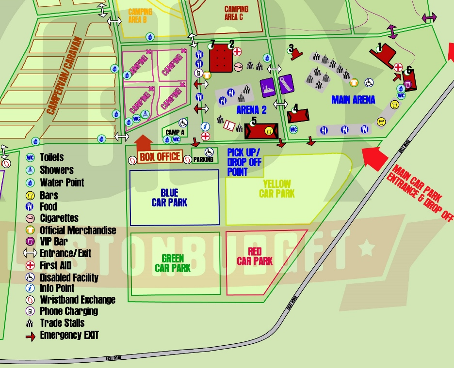 Camping Plus map 2015