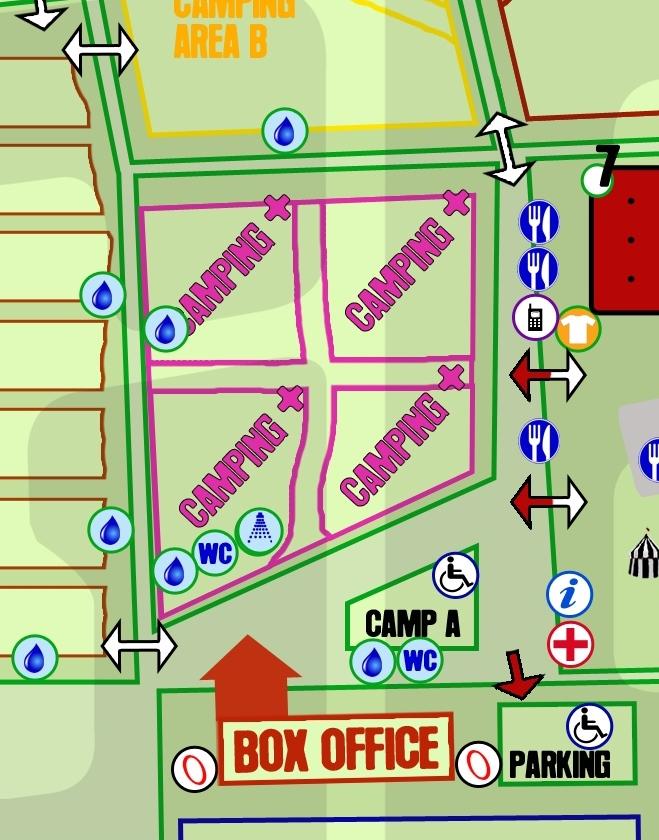 Camping Plus map b 2015