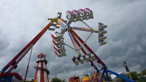 Fairground Rides Glastonbudget Music Tribute Festival