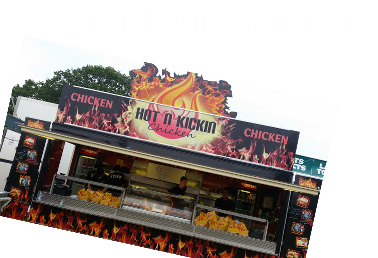 Hot N Kicken Chicken Trader Glastonbudget Tribute Band Festival page image