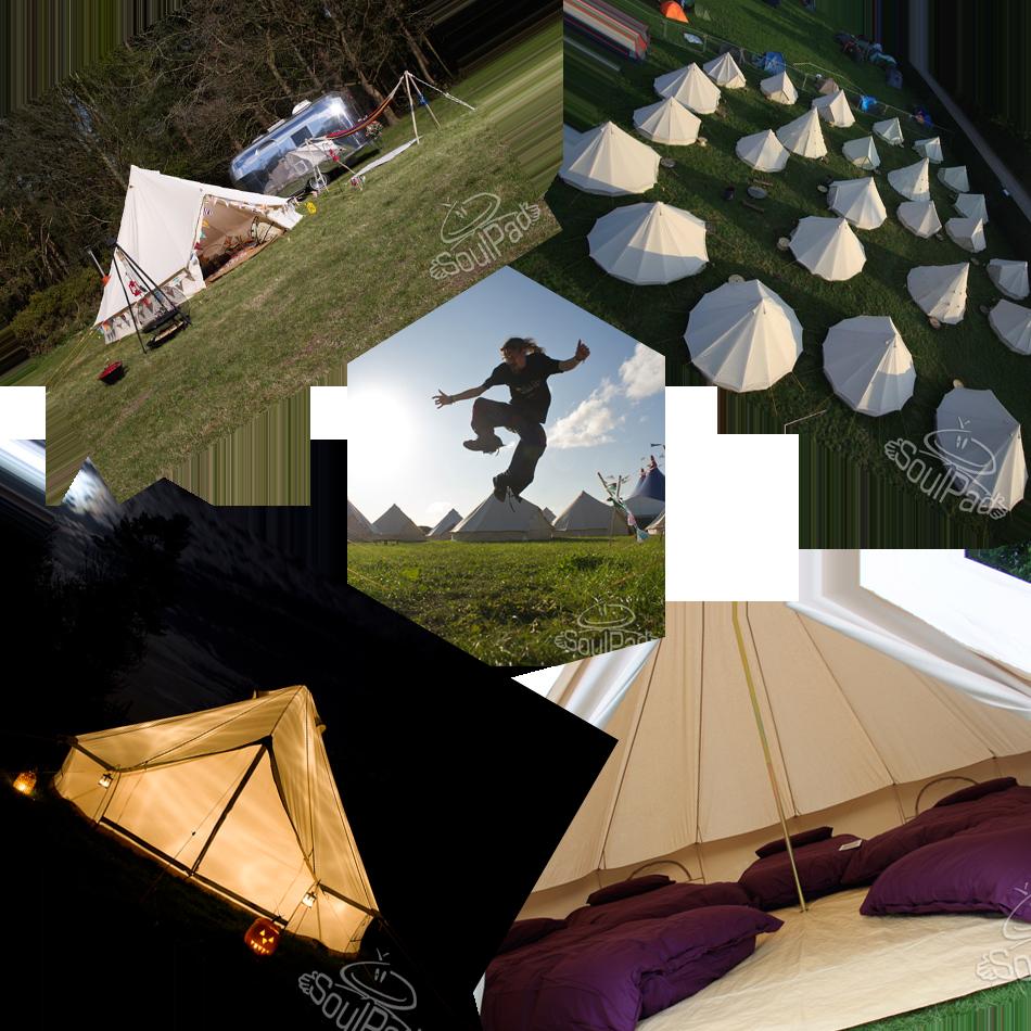 Glastonbudget Bell Tent Tribute Music Festival
