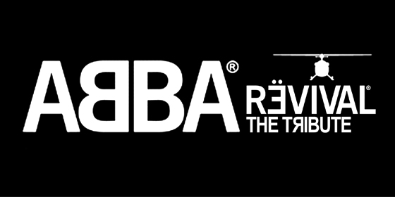 ABBA Revival Tribute Glastonbudget Tribute Band Festival 2015 logo