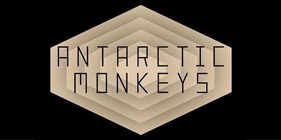 Antarctic Monkeys Arctic Monkeys Tribute Glastonbudget Tribute Band Festival logo