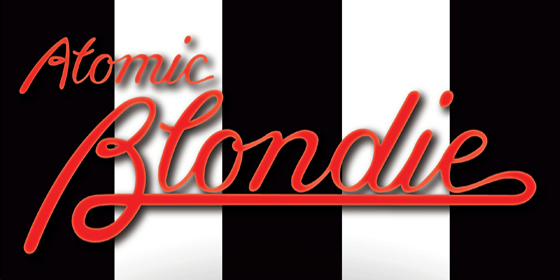 Blondie Atomic Blondiel Tribute Glastonbudget Tribute Band Festival 2015 logo