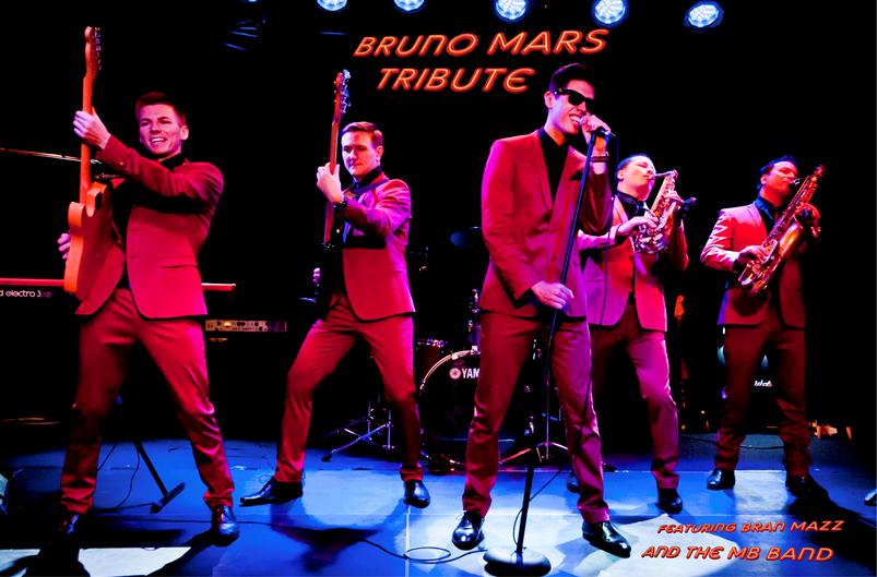 Bruno mars Tribute Bruno Marz Band Glastonbudget Tribute Festival crop