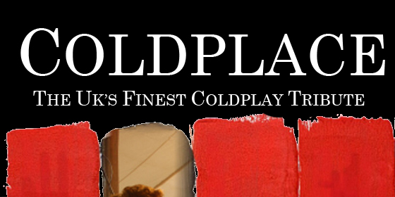 Coldplace Coldplay Tribute Glastonbudget Tribute Band Festival 2015 logo