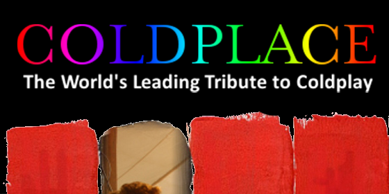 Coldplace Coldplay Tribute Glastonbudget Tribute Band Festival logo