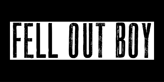 Fell Out Boy Fall Out Boy Tribute Band Glastonbudget Tribute Festival 2015 logo