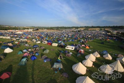 CAMPING INFO AND FAQS Glastonbudget 2015 Glamping