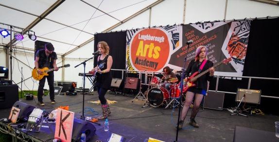 Glastonbudget LoCo Stage Loughborough College 2015