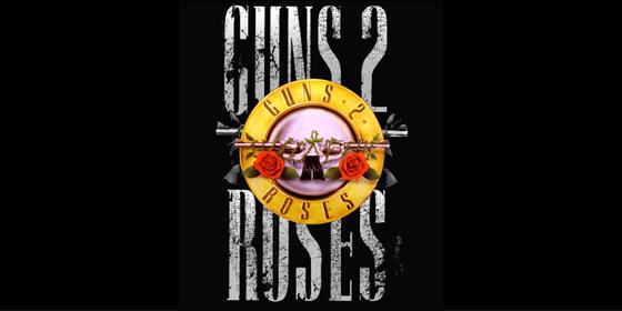 Guns 2 Roses Guns N Roses Tribute Band Glastonbudget Tribute Festival 2015 logo