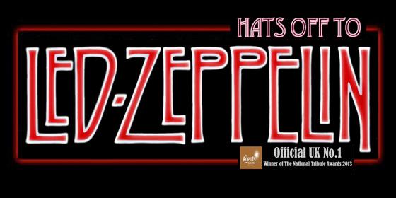 Hats Off To Led Zeppelin Led Zeppelin Tribute Band Glastonbudget Tribute Festival 2015