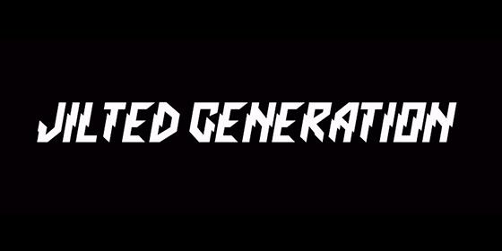 Jilted Generation Tribute Band Glastonbudget Tribute Band Music Festival logo