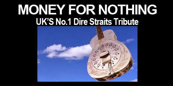 Money For Nothing Dire Straits Tribute Band Glastonbudget Tribute Festival 2015 logo