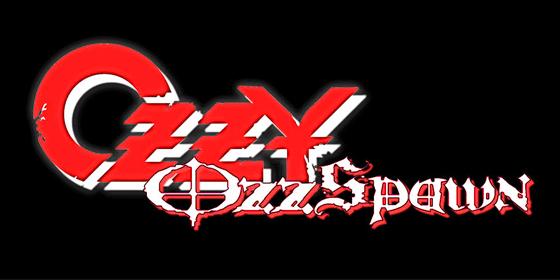 Ozzy Ozzspawn Ozzy Osbourne Tribute Band Glastonbudget Tribute Festival 2015 logo