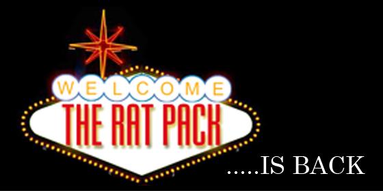 The Rat Pack Is Back Rat PackTribute Glastonbudget Tribute Band Festival 2015 logo