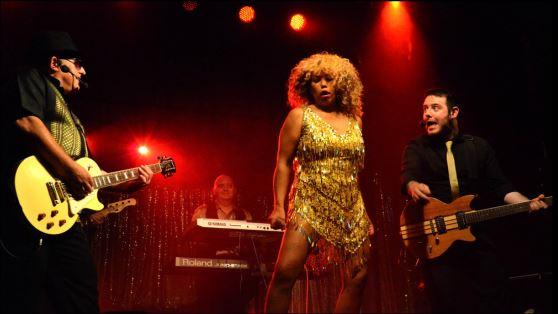 Totally Tina Tina Turner Tribute Glastonbudget Tribute Band Festival 2015