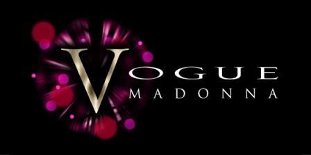 Vogue Madonna Tribute Glastonbudget Tribute Band Festival 2015 logo