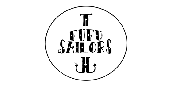logo FuFu Sailors Original Band Glastonbudget Tribute Band Music Festival logo