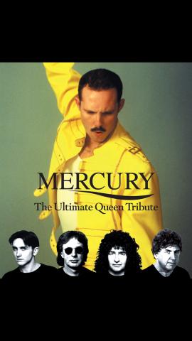 Mercury Queen Tribute Glastonbudget Tribute Band Festival 2019 logo