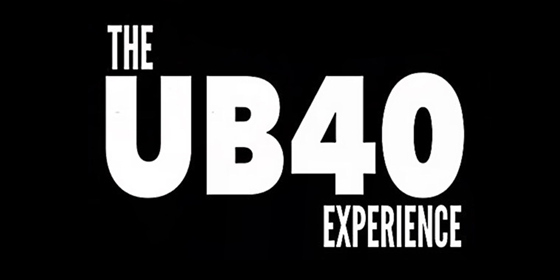 UB40 experience tribute glastonbudget tribute band music festival logo