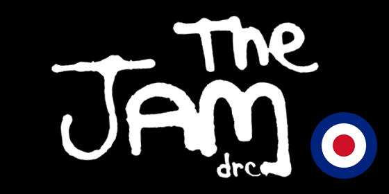 the jam Tribute The Jam drc Glastonbudget Tribute Band Music Festival logo 2