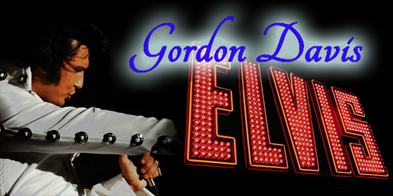 Gordon Davis ElvisTribute Band Glastonbudget Tribute Festival 2016 logo