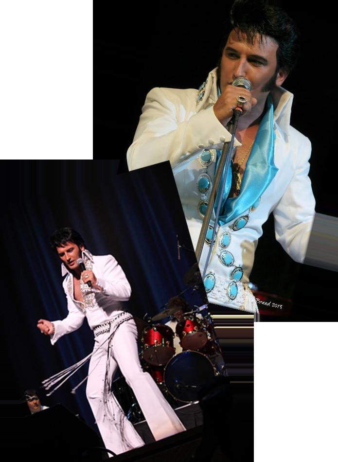 Gordon Davis As Elvis Tribute Glastonbugdet Tribute Band Music Festival 12