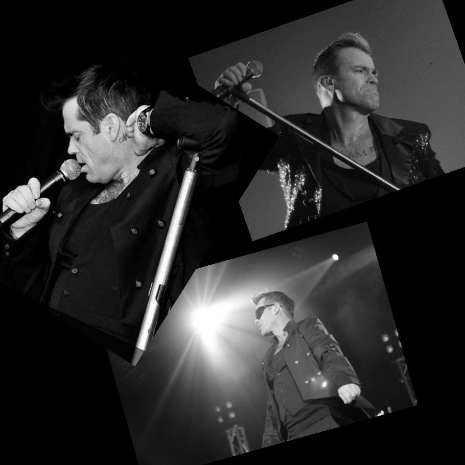 Mike As RobbieTribute Robbie Williams Glastonbudget Tribute Band Festival pic 1