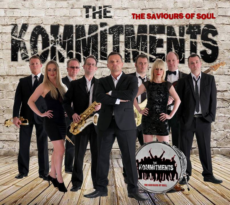 The Kommitments Tribute The Commitments Glastonbudget Tribute Band Festival image 3