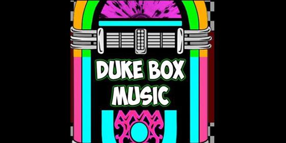 Dukebox Music Original Band Glastonbudget Tribute Band Music Festival logo