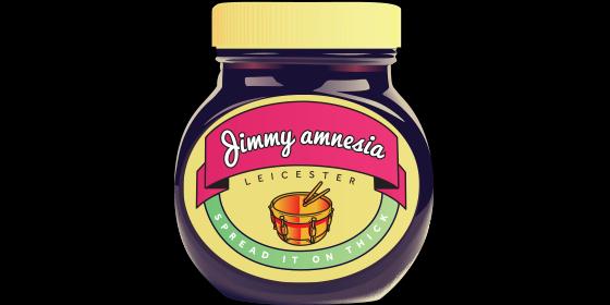 Jimmy Amnesia Original Band Glastonbudget Tribute Band Music Festival logo
