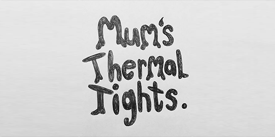 Mum's Thermal tights Original Band Glastonbudget Tribute Band Music Festival logo
