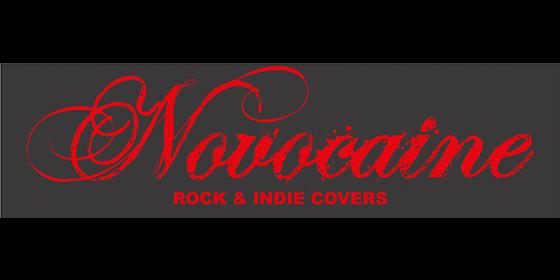 Novocaine Original Band Glastonbudget Tribute Band Music Festival logo