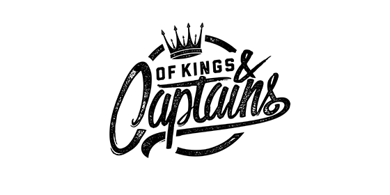Of Kings and Captains Original Band Glastonbudget Tribute Band Music Festival logo