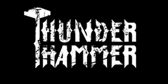 Thunder hammer Original Band Glastonbudget Tribute Band Music Festival logo