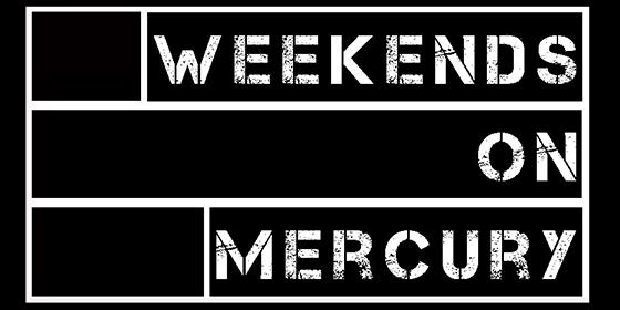 Weekends On Mercury Original Band Glastonbudget Tribute Band Music Festival logo