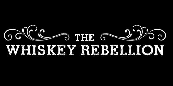 logo THE WHISKEY REBELLION Original Band Glastonbudget Tribute Band Music Festival logo