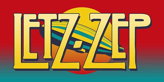 Letz Zep Led Zeppelin Tribute Band Glastonbudget Tribute Band Music Festival logo