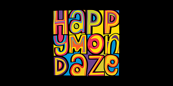 Happy Mondaze Happy Mondays Tribute Band Glastonbudget Tribute Band Music Festival logo