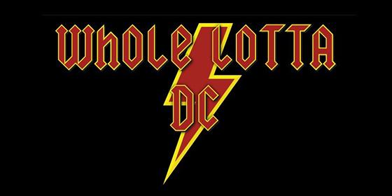 Whole Lotta DC ACDC tribute glastonbudget tribute band music festival logo 1