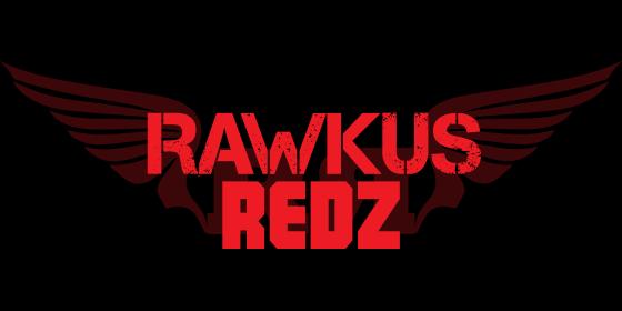 Rawkus Redz Original Band Glastonbudget Tribute Band Music Festival logo