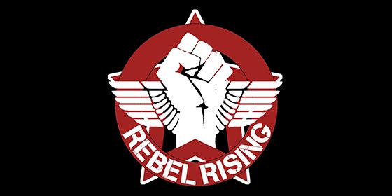 Rebel Rising Original Band Glastonbudget Tribute Band Music Festival logo