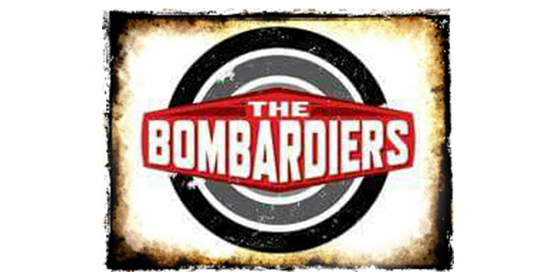 The Bombardiers Original Band Glastonbudget Tribute Band Music Festival logo