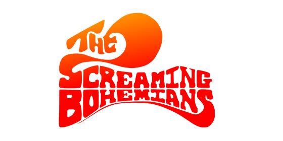 The Screaming Bohemians Original Band Glastonbudget Tribute Band Music Festival logo
