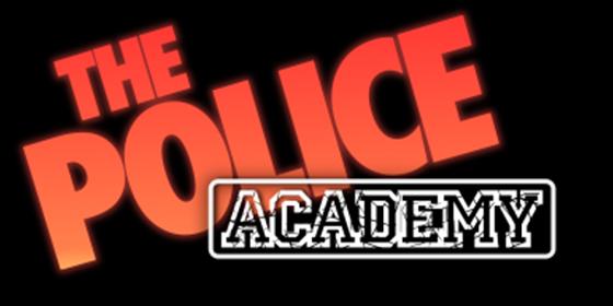 logo Police Tribute Band Police Academy Glastonbudget Tribute Band Music Festival logo