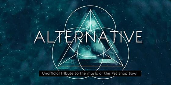Alternative Pet Shop Boys Tribute Band Glastonbudget Tribute Band Music Festival logo